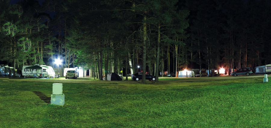 Parcelas de acampada en Camping Orea
