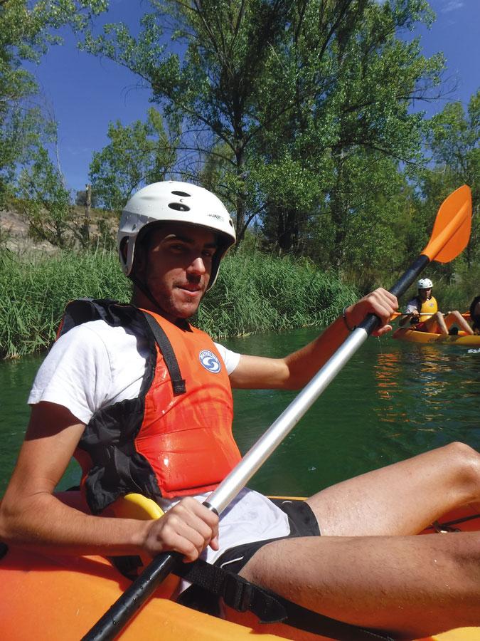 Aguas bravas Las Juntas GEAventura en Camping La Dehesa del Cañamares