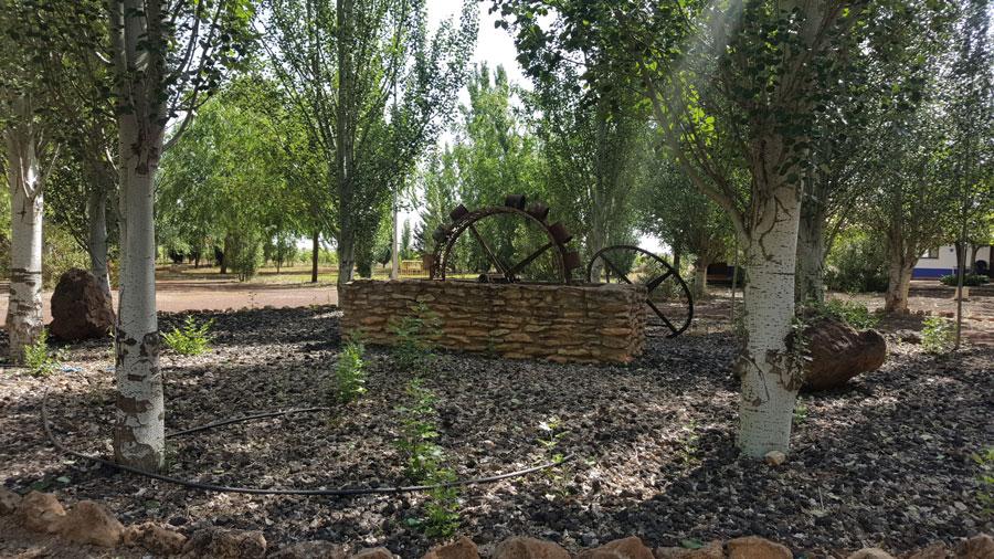Noria del Camping Los Arenales