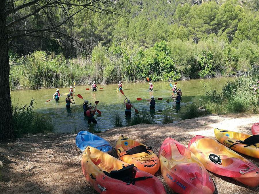 Camping Río Tus