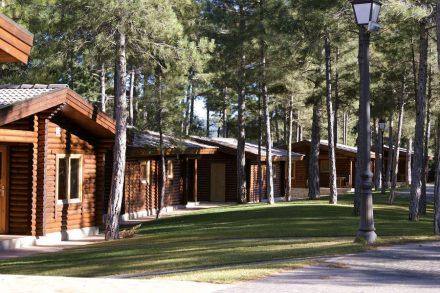 Bungalows del Camping Caravaning Cuenca