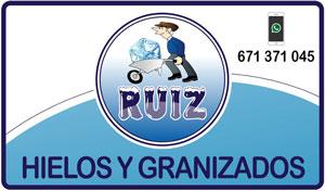 Hielos Ruiz - Hielos y granizados