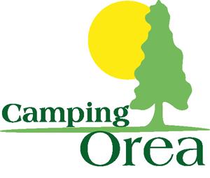 Logotipo Camping Orea